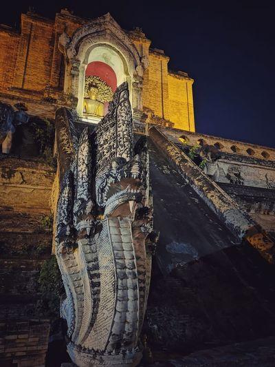 Buddha statue in a temple