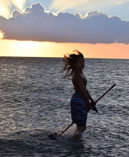 Red Tide and Broom Riding on the Gulf Coast of Florida #Broomflying #floridagulfcoast #floridaredtid Broom Flying Florida Red Tide Fun Gulf Coast Outdoors Sunset #sun #clouds #skylovers #sky #nature #beautifulinnature #naturalbeauty #photography #landscape