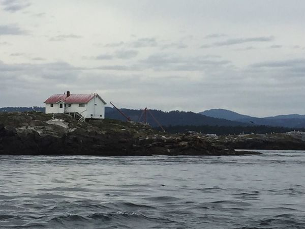 Waterfront Architecture Built Structure Water Building Exterior House Sea Rippled Mountaindistance] mountaiScenicscnClouduSkykTranquilitytCalmlMountain RangegNaturerBeauty In NaturerOceanan Boathouse Ocean View Lighthouse Tranquil Scene Gloomy Rain