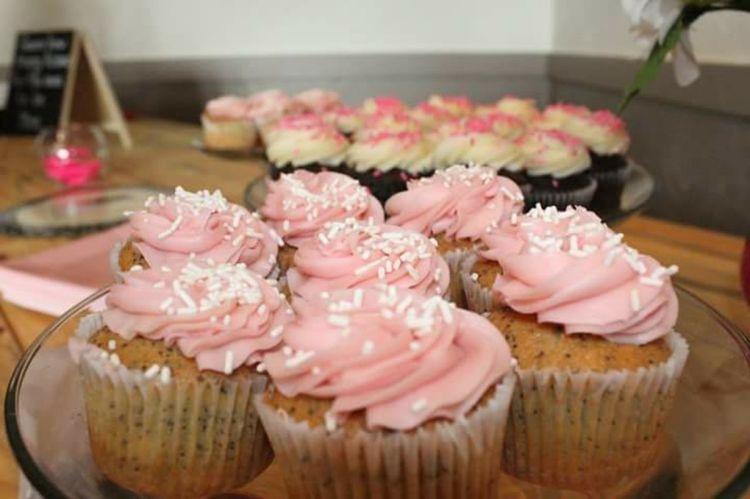 Cupcakelovers Sweet Food Pink Color No People Food Cupcake Indoors  Yummy ♥ Treats