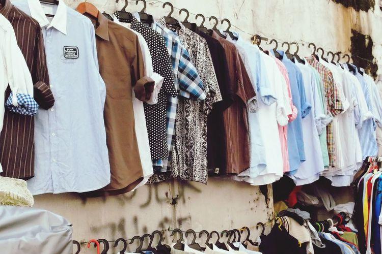 Sales of shirts