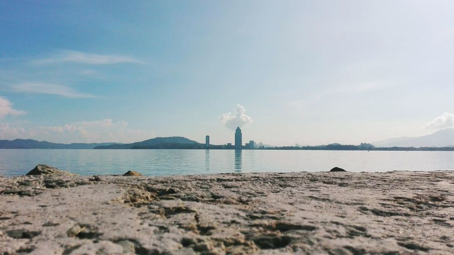 Boring Poke The Cloud! | Huaweip8 Lite | Ocean And Hills