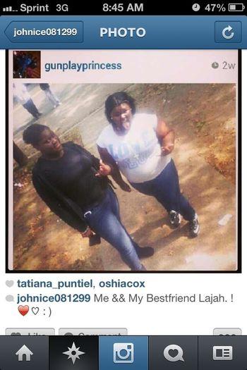 Lol Lajah & her BestFriend . _#Ctfu SoooBad