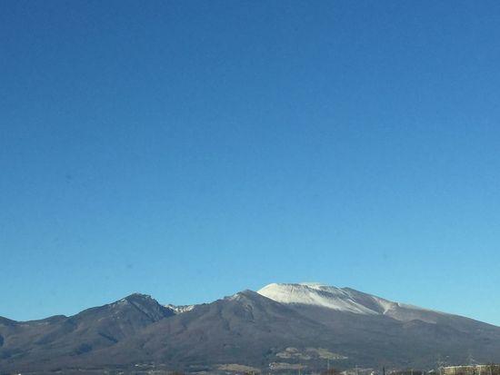 2016年元日の浅間山 青空 空 浅間山 My Sky Nature Nagano, Japan 信州 冬の景色
