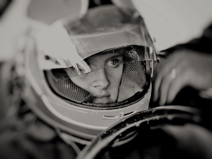 My neice the 11year old mad skilled race car driver. Off Roading Girl Racers EyeEm Best Shots Blackandwhite B&W Portrait Offroad Racing Girl Eye4black&white  California Motorsport EyeEmPortraits Determination Concentration The Portraitist - 2016 EyeEm Awards
