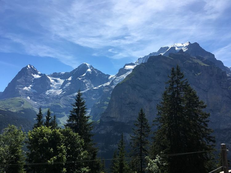 Pure beauty... Mountain Nature Sky Beauty In Nature No People Snow Scenery Eiger Moench Jungfrau Outdoors Berner Oberland