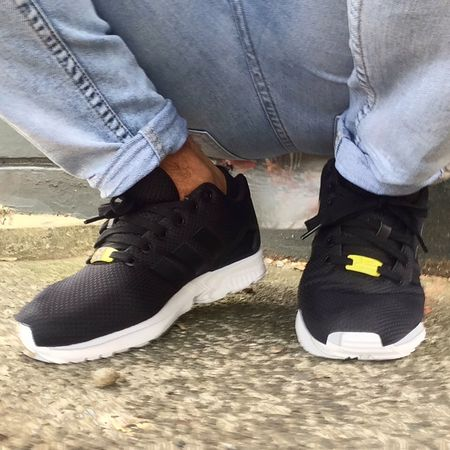 I love shoes x Adidas Zx Flux Fashion Love Style Shoe Game Shoes
