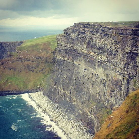 Beautiful Scenery Countryside Wilderness Cliffs Ireland High Atlantic Water Bluesky Ocean Rocks Ledge Fearlessness Edge AtWorldsEnd @lauravhenry Instaireland Ireland_gram Instaireland Ireland Spring Beautiful Cityscape Traveling Trip holiday instapic