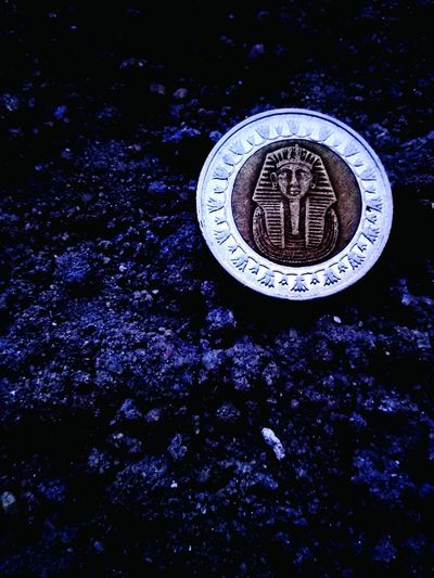Egyptian Pound   الجنية المصري Egypt Pound Egyptian Pound Dollar Sea See Astronomy Coin Close-up Money Clock Face Clock Hand Second Hand Pocket Watch Number 12 Roman Numeral Plastic Environment - LIMEX IMAGINE