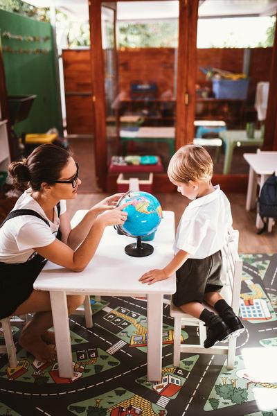 Learning Boy Child Childhood Globe Intelligence School School Life  Studying Teacher