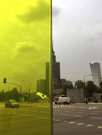 Paint The Town Yellow The Palace of Culture and Science. Architecture Check This Out Tadaa Community Poland Warsaw Window Street Cityview Glass Rethink Things