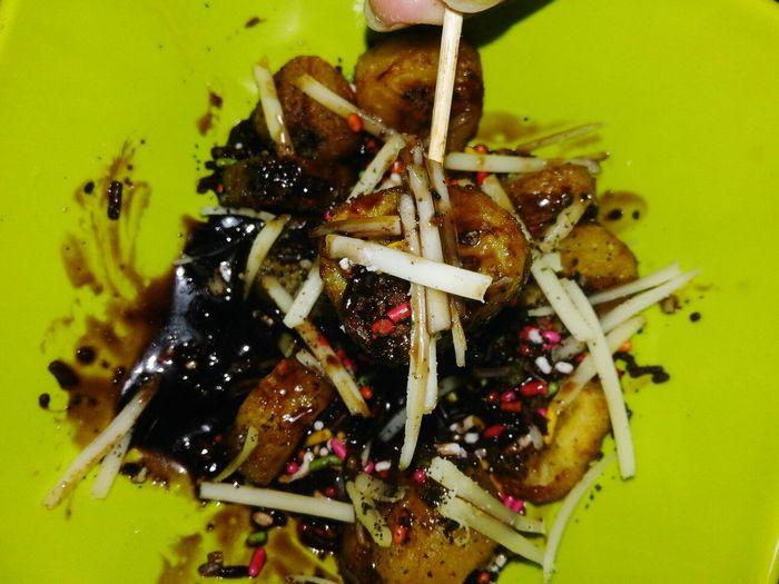 Fried banana.. or piscok Kulinerindonesiaku KulinerRakyat Chesee Chocolate♡