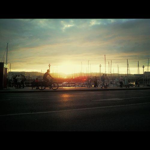 Atardecer Gijón Street Photography Sun Set