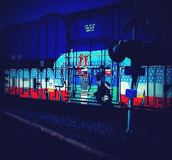Graffiti Text Outdoors No People Night Architecture Sky Cant Wait Till I Get A Real Camera Lol..... Graffitiart