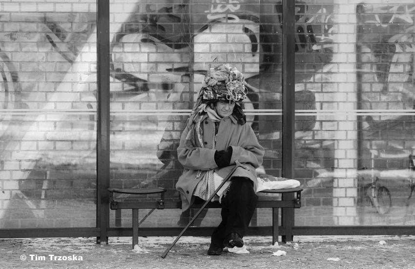 Berlin Day Freaky Lifestyles People S/w Trzoska