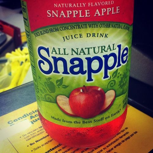 Unfffff <3 Apple Snapple Apple Snaple Applesnaple Yum bestdrink juice drink juicedrink yummy loveit inlove nathangotmeaddicted addicted fuckyes yeahboii dollargeneral secondhome yup lol