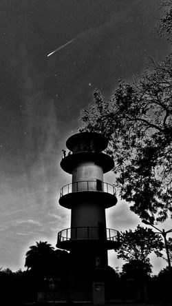 Pragiti minar of Maitri Garden Towers And Sky Bhilai Night Space And Astronomy No People Outdoors Low Angle View Tree Nature Galaxy Sky Nightphotography Nightlife Night View Nightscape Minar Welcome To Black Black And White Friday