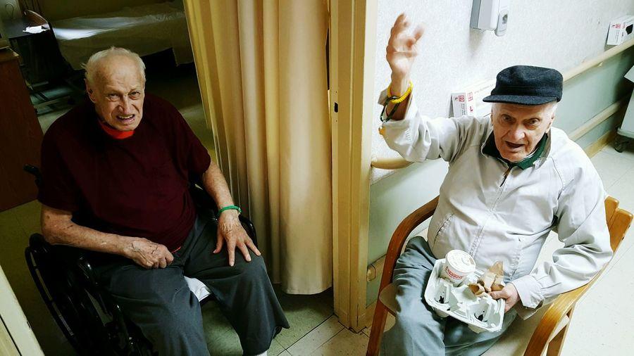 43 Golden Moments Grumpy Old Men EyeEm EyeEm Best Shots - People + Portrait Seniors Senior Moments People Together S6