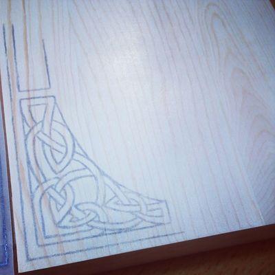 A new celtic design emerging @ArtisIgnis