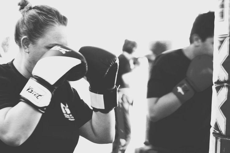 Boxing♥ Boxing Gloves Boxing Girls Indoor Eye For Details Gym Life Stay Fit Click Click 📷📷📷 Blackandwhite Photography Taking Photos Through My Eyes Punchbag Punch Kick Kickbox Training Hamburg Germany🇩🇪