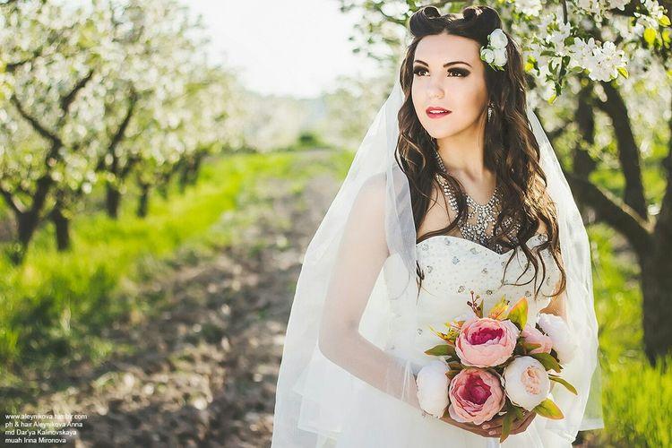 Wedding Photography Boussanna Photography Love♥ Flowers Bride Crimea Spring Makeup свадьба
