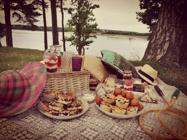 Picknick Time Food And Drink No People Nature Sweets Cupcake