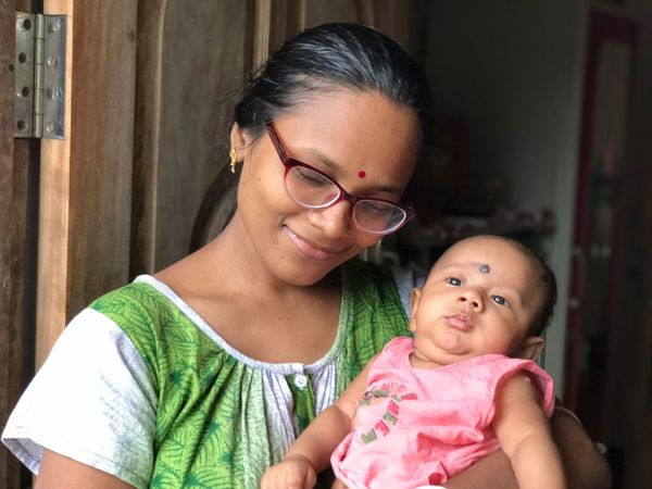 EyeEm Selects Baby Real People Family Love Childhood Togetherness Mother Family With One Child Lifestyles Bonding Smiling Happiness Portrait Indoors  Looking At Camera Eyeglasses  Day Young Adult Young Women Close-up