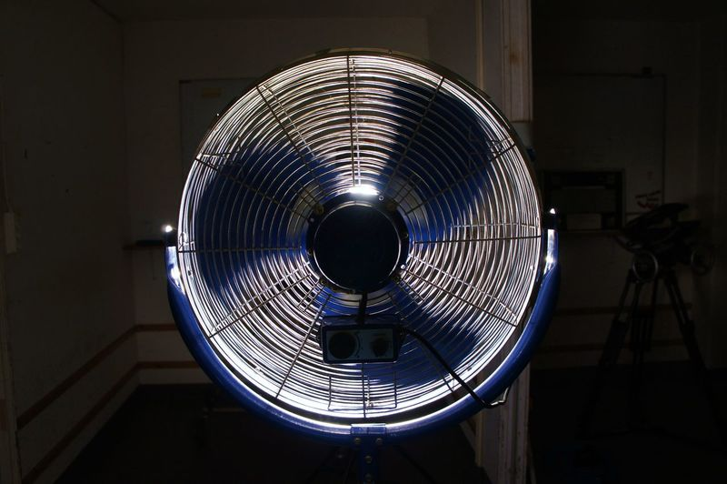 Electric Fan Heat Indoors  Minimalism No People Usual Object Wind