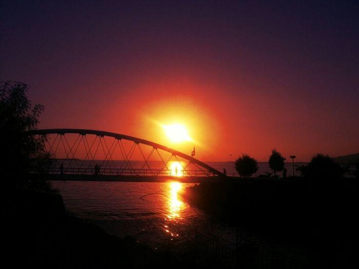 Sunset Bridge TheMinimals (less Edit Juxt Photography) Gang_family Eye4photography