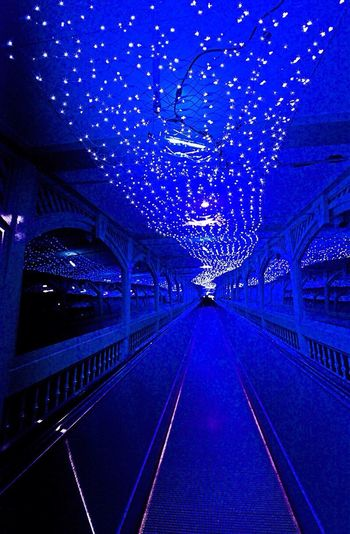 moving walkway illumination Tadaa Night Lights Nightphotography Illumination Architecture