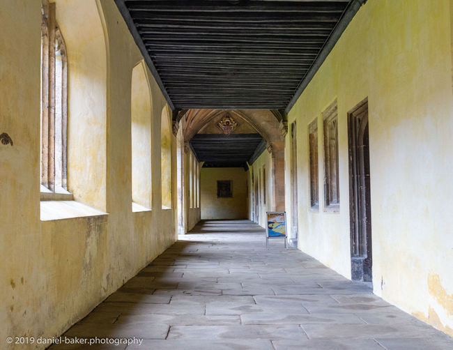 Architecture Built Structure Building Corridor No People Day Diminishing Perspective