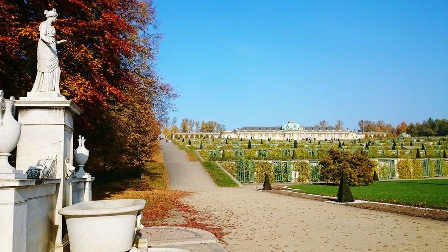 Potsdam Sansoucci Park Sanssouci Statues In The Park Statue Travel