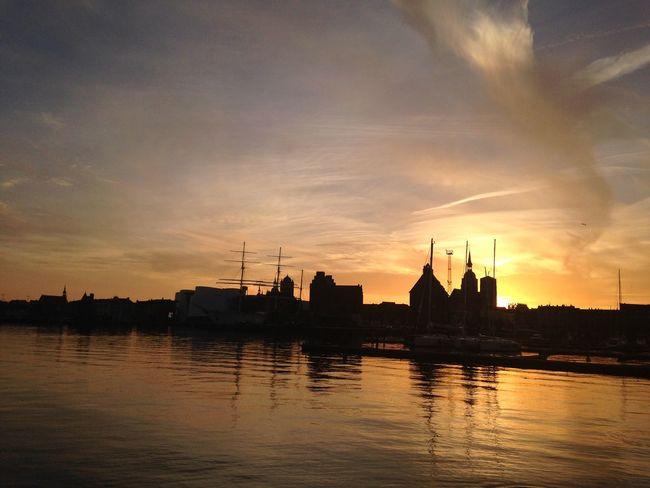 Pirates Sun Sunset Sunset_collection Sundown Stralsund  Gorch Fock