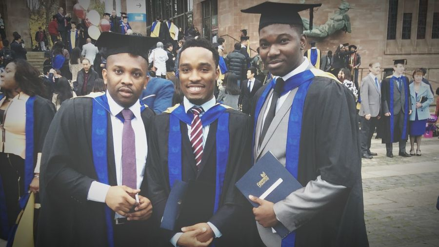 Post Grad convocation...Coventry University, 2014 Graduation Convocation Lads That's Me Happydays😎