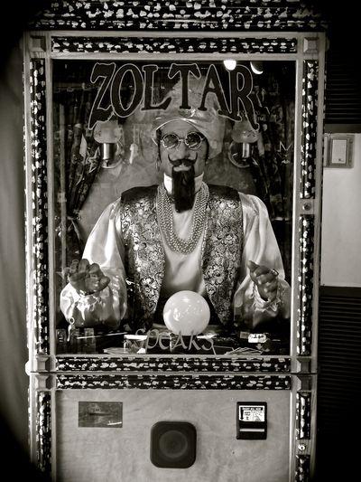 B/w Fortune Fortuneteller Machine Old-fashioned Zoltar Zoltar Speaks