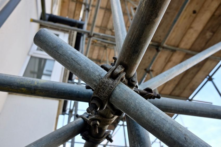Architecture Built Structure Close-up Connection Construction Industry Day Focus On Foreground Industry Metal No People Outdoors Pipe - Tube