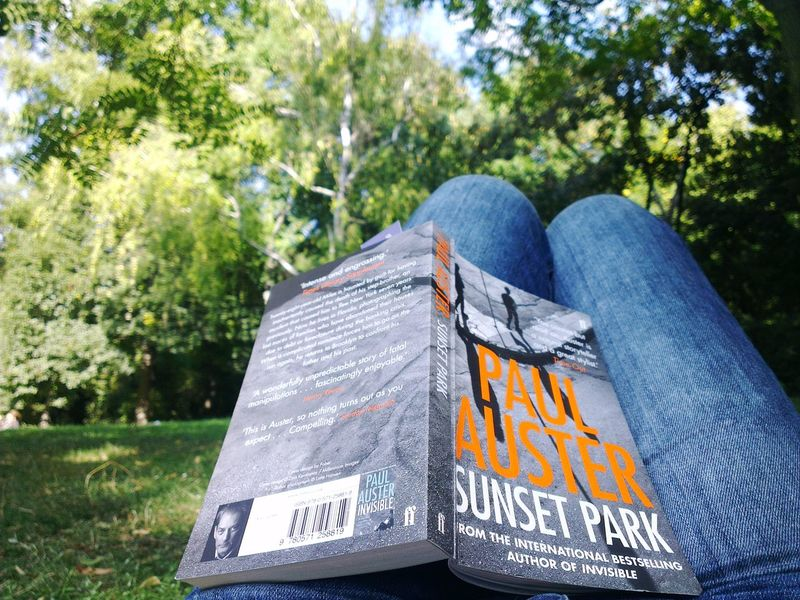 EyeEm Selects Sunset Park Paul Auster Book Reading & Relaxing