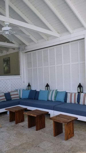 ...Resting area.... in between the bar and restaurant... I nice place to relax...(4/6) Isla Culebra ,Puerto Rico