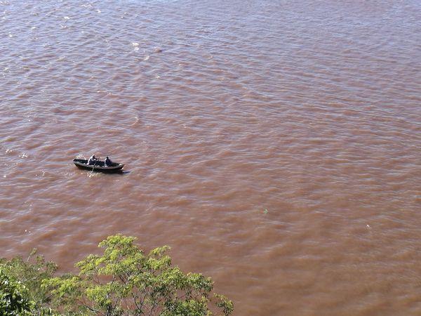 Río Paraguay Asunción Paraguay Asunción River Fishing Life