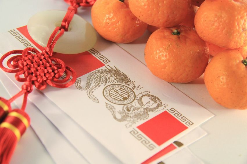 How You Celebrate Holidays Lunar New Year Chinese Culture Ang Pows Ang Bao Red Envelope Imlek Double Happiness