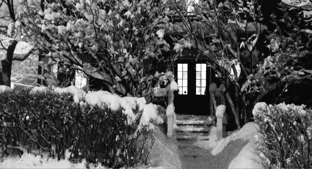 One winter night... EyeEm Best Shots Black & White AMPt Community Montréal