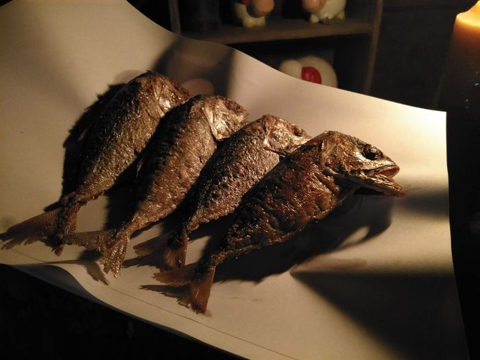 ปลาทูทอด 😋 Seafood Close-up Food And Drink Fried Fried Potato