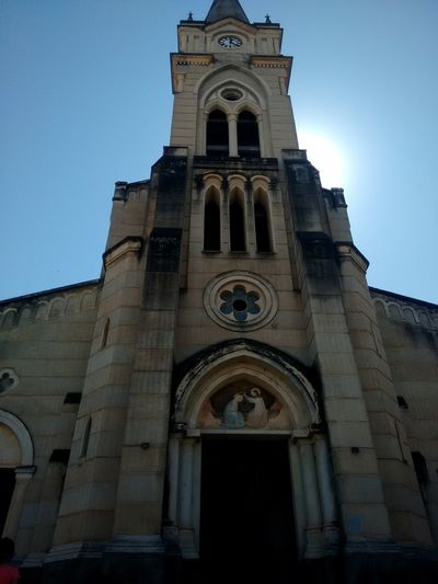 Architecture Bell Tower Building Exterior Built Structure Clear Sky Day History Low Angle View No People Outdoors Place Of Worship Religion Sky Spirituality