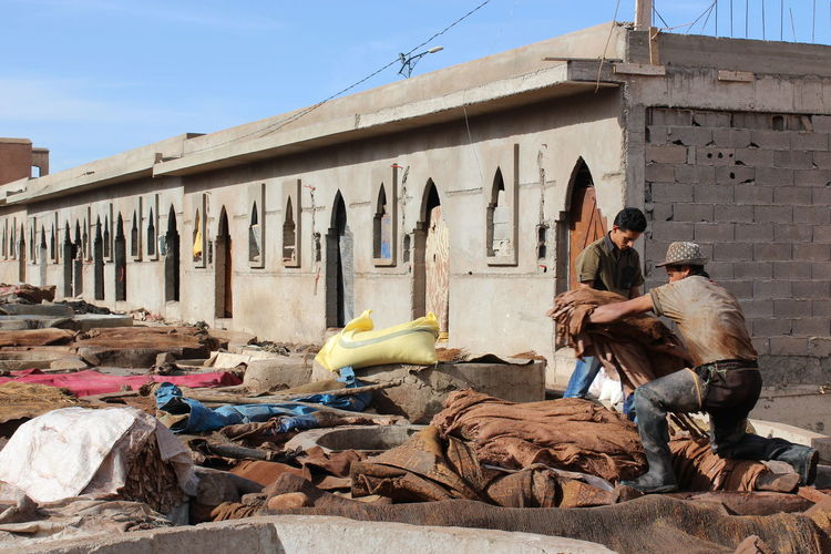 Building Leather Marrakech Morroco Smell Tannery Tannery Row Ale House Work Working Hard First Eyeem Photo