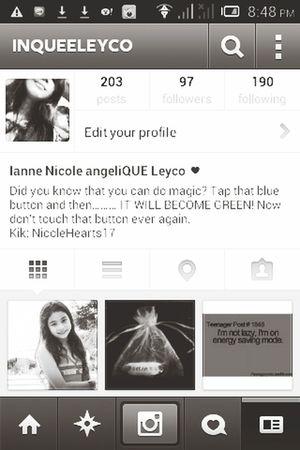 Hey dudes who has Instagram ? Follow meeeeh
