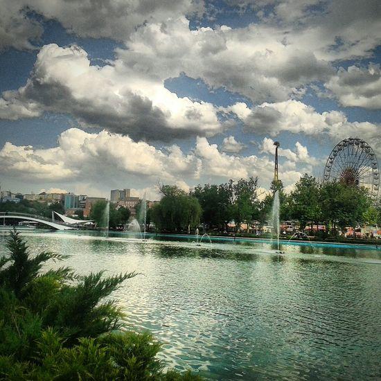 Relaxing Ankara Gençlik Parkı Baskent Turkey Ankara Park Enjoying Life