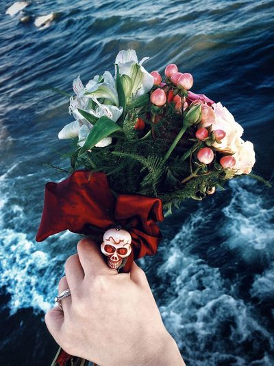 Metal Wedding Marriage  Wedding Skull Sea Metal Rock Bouquet Wedding Flower Bouquet Wedding Ring