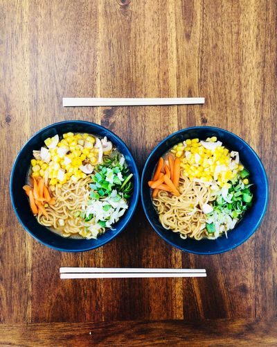 Ramen Noodles IPhoneography Foodphotography Food And Drink Food Lunch Chopsticks Ramen Ramentime🍜 Ramen Noodle Noodles Table Freshness Vegetable Directly Above Bowl First Eyeem Photo