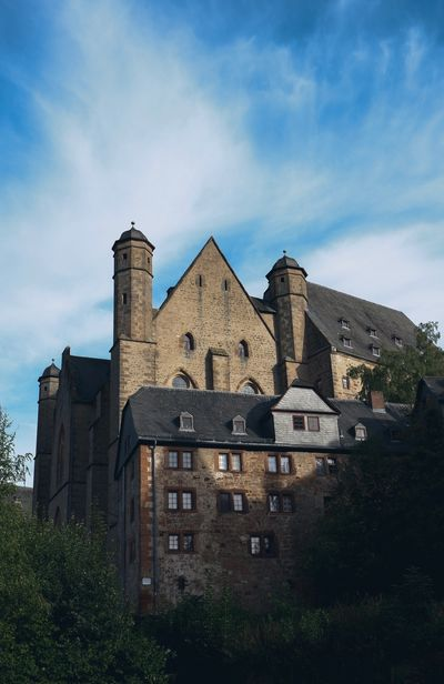 Marburg Castle Marburg Castle Marburg An Der Lahn Marburg Architecture Built Structure Sky Cloud - Sky Building History Day Old Outdoors No People