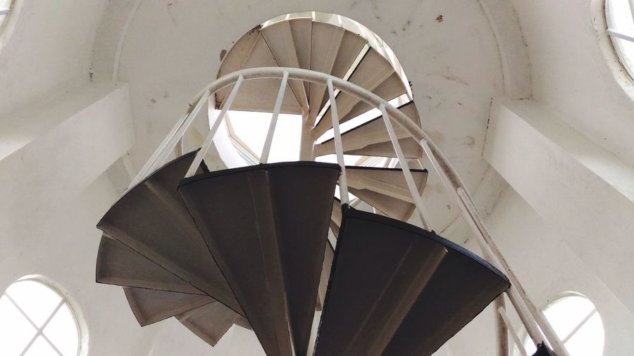 PhonePhotography Architecture Built Structure Low Angle View No People Indoors  Day Eyeemeverywhere Eyeemphotography Explore EyeEmNewHere Staircase